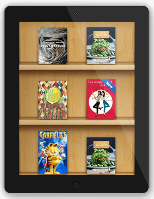iPad Book library