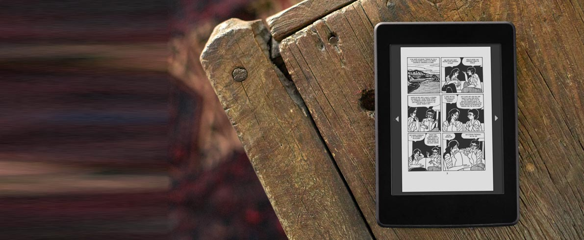 amazon kindle fixed layout