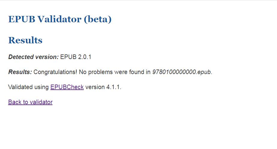 eBook Validation 8